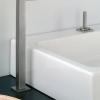 ACCADEMIA-I hohe 2Loch Waschtischarmatur ohne Excenter Garnitur, Chrom