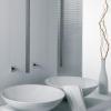 ACCADEMIA-I hohe 2Loch Waschtischarmatur Bedienung Unterputz in der Wand und Deckenauslauf, Chrom