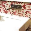 ACCADEMIA-I Unterputz Waschtischarmatur für Waschschüsseln, Platin -gebürstet