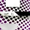 BENTO Aufputz Wandarmatur für Waschschüsseln mit Wasserfallauslauf und Ablagesystem in schwarz, Chrom-weiß