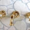 Unterputz Waschtisch oder Küchenarmatur, LE PETIT, Gold