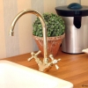 IMPERIAL 1Loch Küchenarmatur, Gold I.