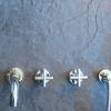 TAVUS 5 Loch Unterputz Badewannearmatur mit Auslauf, Chrom