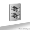 EDWARDIAN Unterputz Thermostat mit 2 Wegemischer.