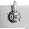 Unterputz Nostalgie Duschthermostat mit einem Ausgang, Chrom, LE PETIT, BRIGTHON, IMPERIAL, TT00ALO41195CR-690