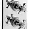 Unterputz Thermostat LE PETIT LOUIS, mit 2Wege Umstellerventil, Chrom, TT00ALO41163-569