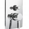 WATERSTIK Unterputz Armatur für Dusche oder Wanne, mit 2wege Umsteller, Chrom