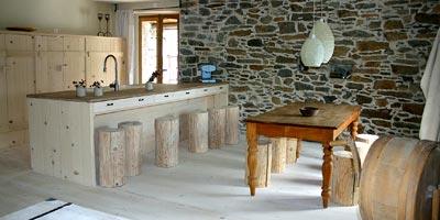 1 Loch Küchenarmatur EILEENplus, Edelstahl-gebürstet. Niwalden-Schweiz.